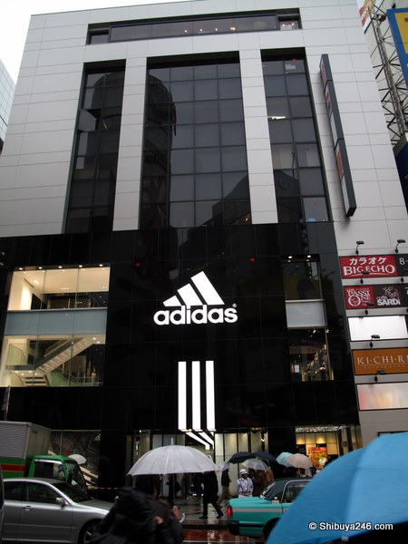 adidas store in Shibuya