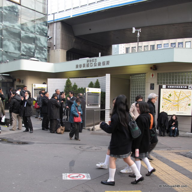 Perfect location for Japan Tobacco to sponsor. Everyone already has the product out advertising it for them.