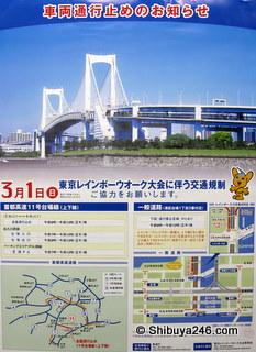 Poster for Rainbow Bridge Walk 2009