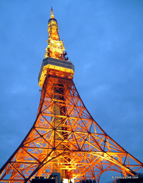 Tokyo Tower 50 years old in Dec 2008