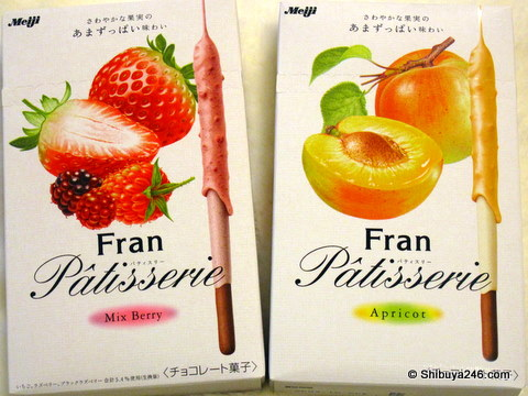 Meiji Fran - Mix Berry and Apricot