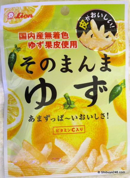 Yuzu Peel - Tasty!!!