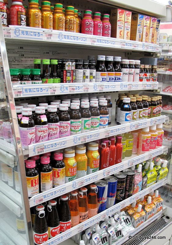 vitamin drinks and other potions