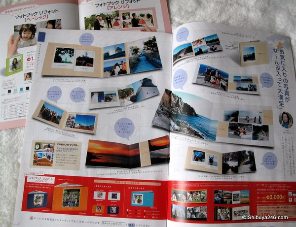 Many layouts to choose from to create your unique photo book