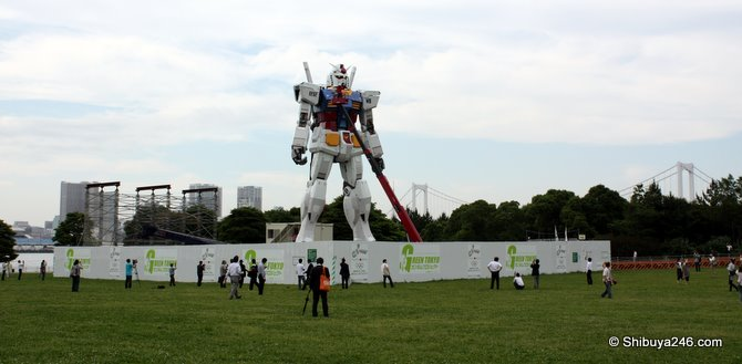 Gundam construction almost complete