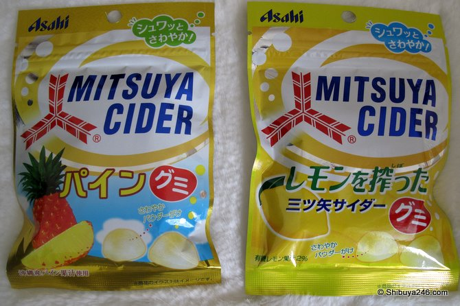 Gumi candy from Mitsuya Cider