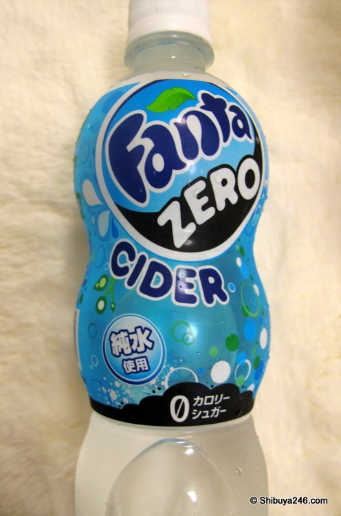Fanta ZERO. Would this be called a CIDER in the US?