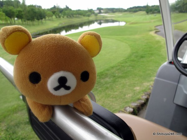 Teeing it up with Rilakkuma