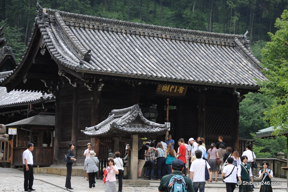 The inner entrance to the main Temple area. A small fee is required to go past this area, but the view from inside is worth it