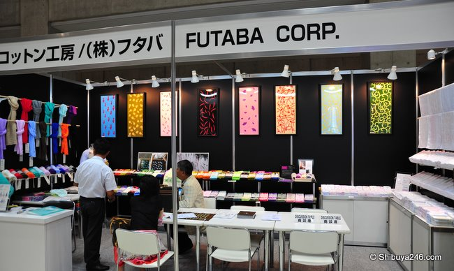 really nice towels and cloths from Futaba Corp.
