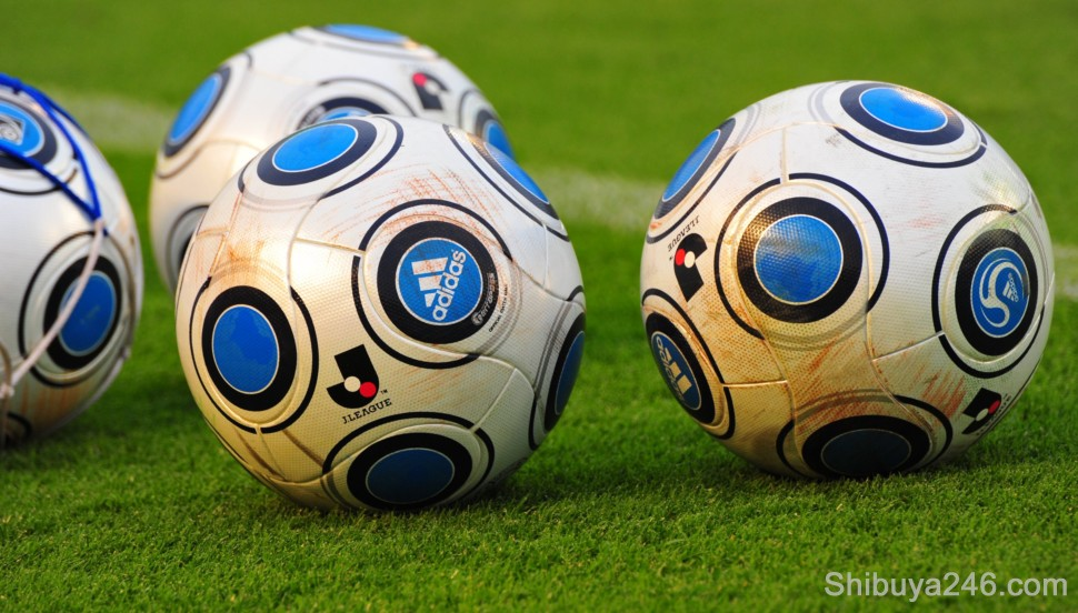 Official J-League soccer balls
