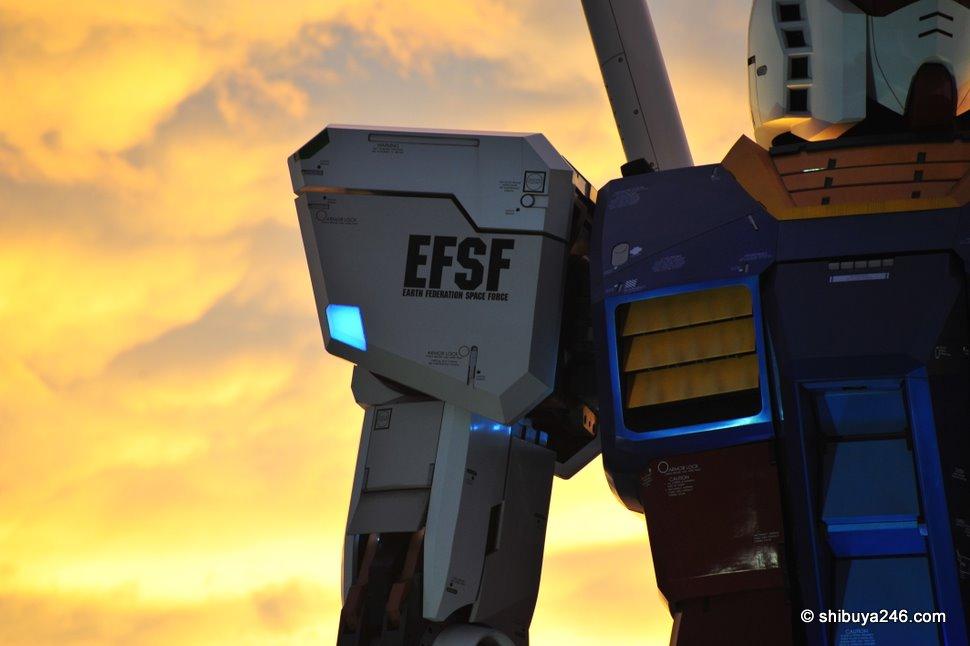 Gundam Odaiba, Tokyo Japan