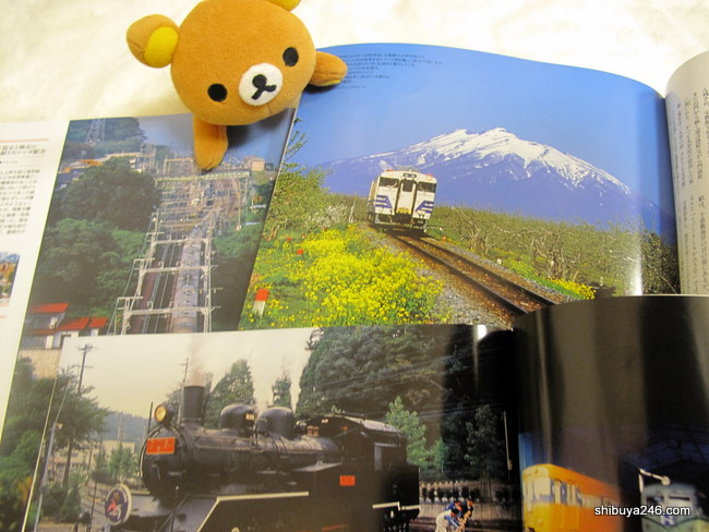 Rilakkuma enjoying some of the pictures