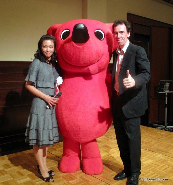 Cheeba-kun, Councillor Namiki and me