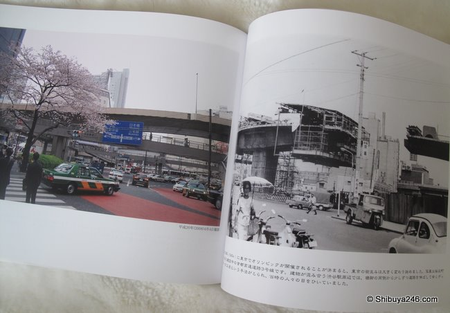 A phto from Vol.1 showing the construction of the Expressway in time for the 1964 Olympics