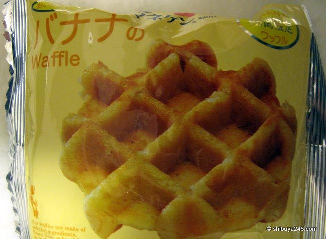 Manneken Waffle (banana flavor)