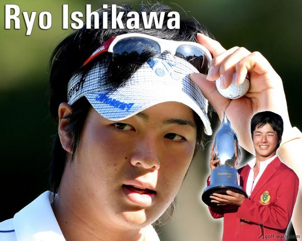 Ryo Isihikawa, picture from golf-walls.com
