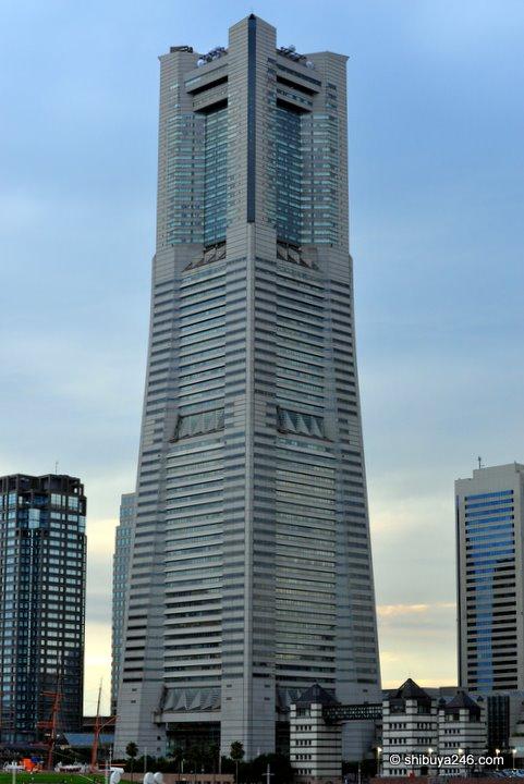 The Landmark Tower in Minato Mirai, Yokohama