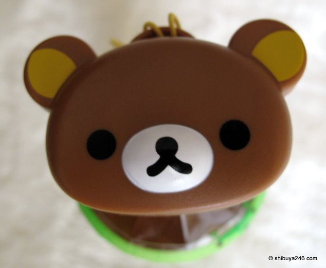 View from above. Are you ok Rilakkuma?