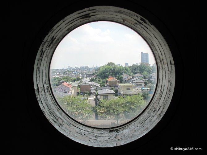 A view of Japan through the porthole