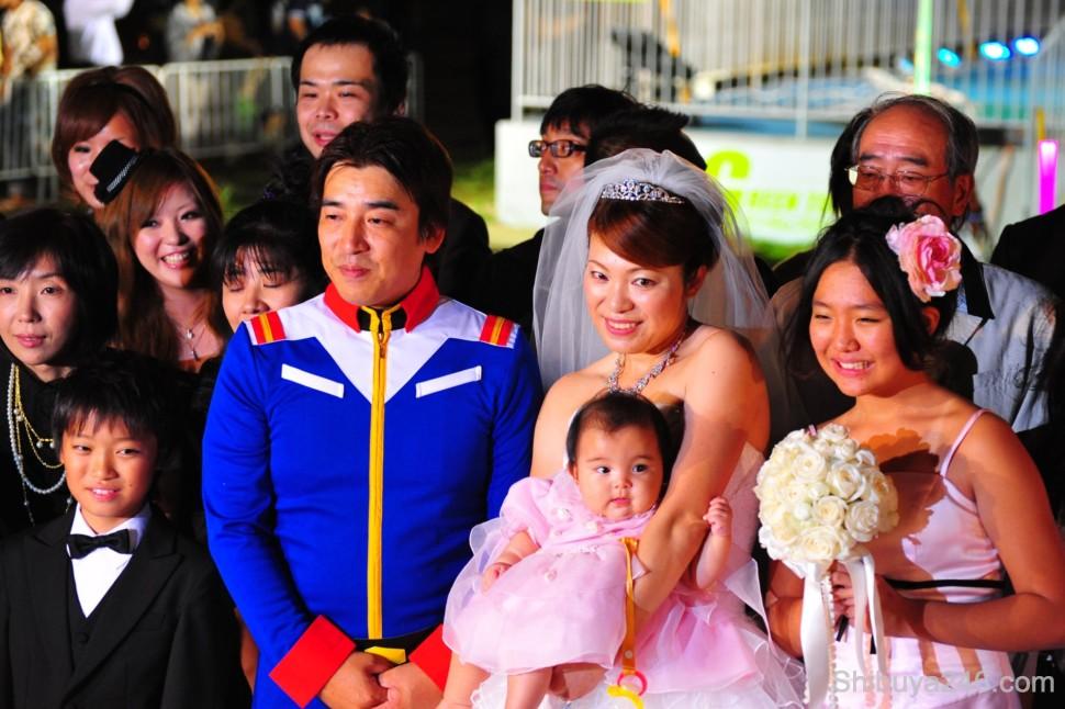 Odaiba Gundam Wedding Shibuya246