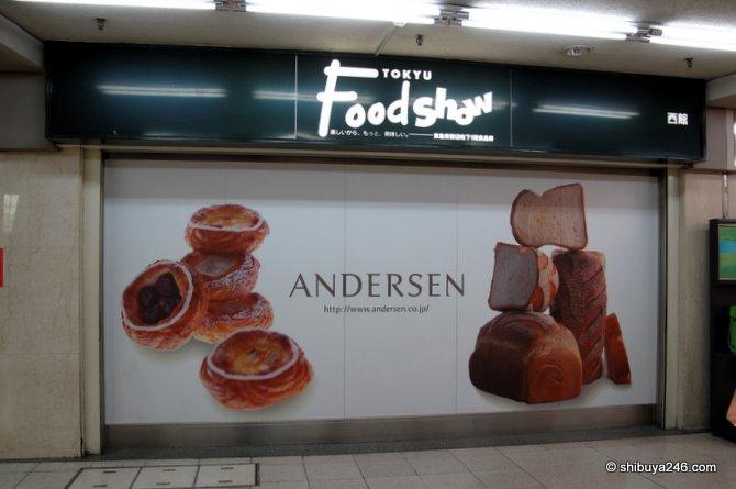Andersen Bakery in the Tokyu Foodshow (Nishi-kan basement)