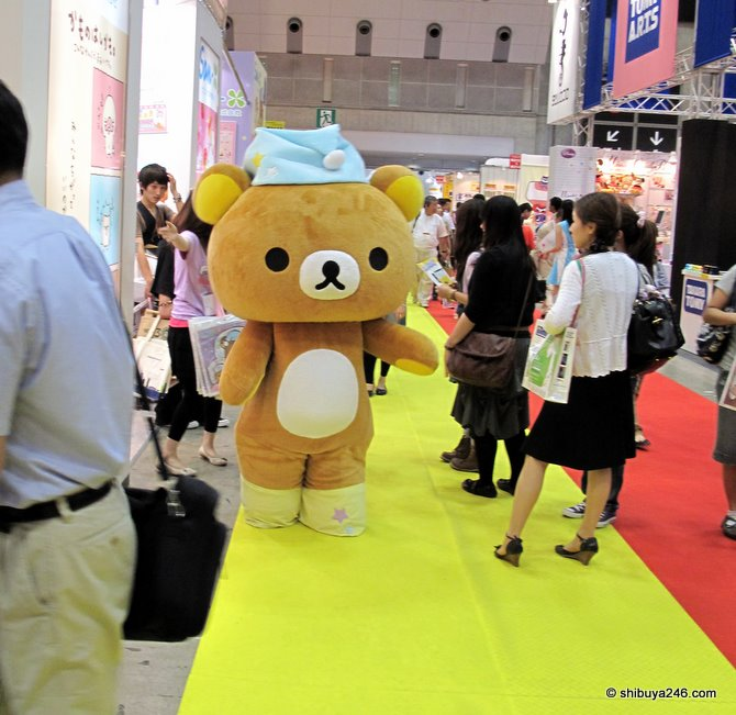 Rilakkuma making his entrance