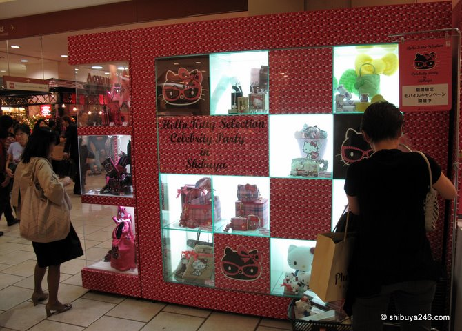 Plenty of Hello Kitty to check out