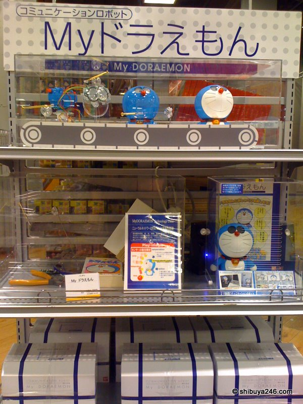 My Doraemon on sale at Seibu Loft