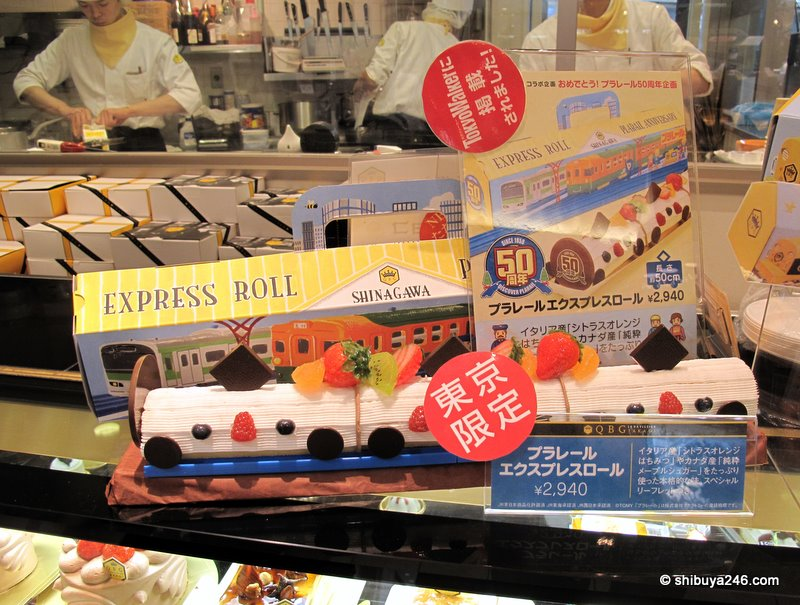 Shinagawa Express Roll Cake