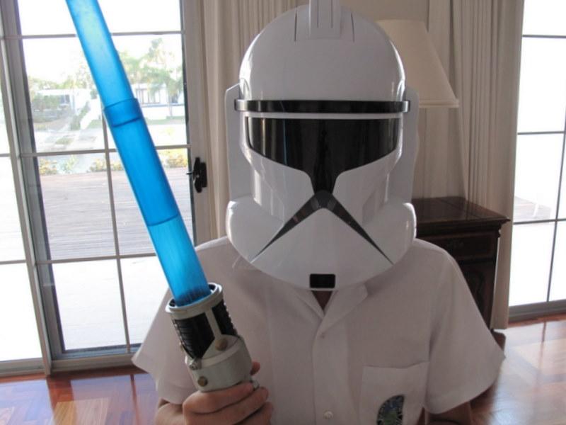 My Clone Wars nephew