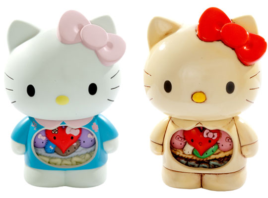 The Internal anatomy of Hello Kitty by Dr Romanelli and Hello Kitty