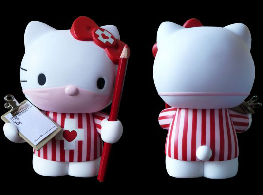The Hello Kitty Candy Striper by Dr Romanelli and Hello Kitty