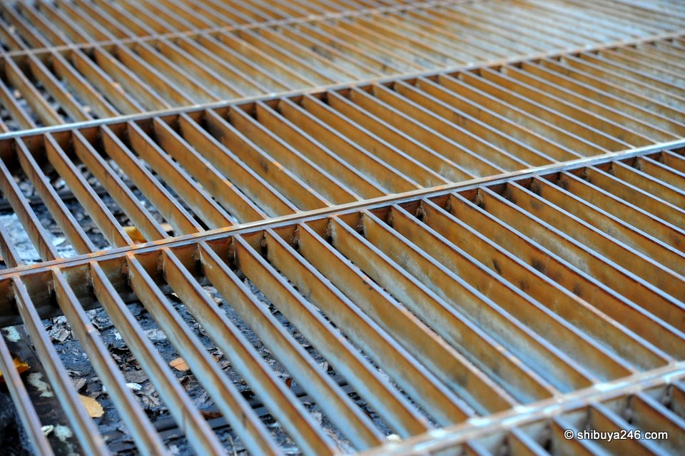 A grate covering the entrance to the subway. Not much to see here, but wanted to see the definition the macro angle on this lens could picky up. Good? Bad? Actually I am not sure how to tell with this ^^.
