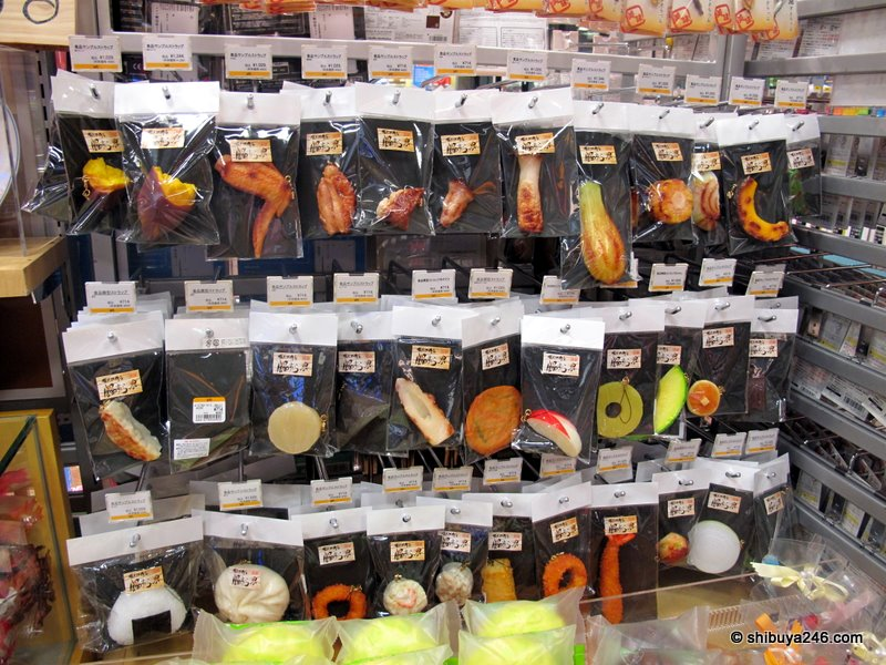 Hungry? How about some plastic food to spice up your kitchen?