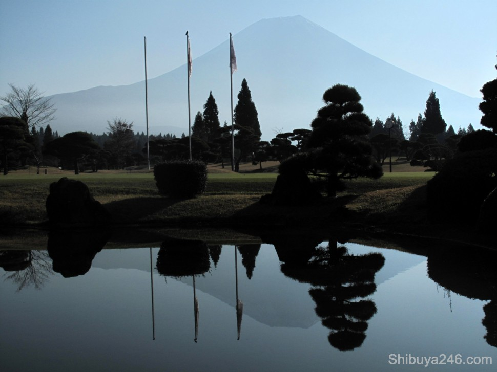 The second day we drove 10 minutes to a course called Asagiri Jamboree. It also had stunning views of Mt Fuji