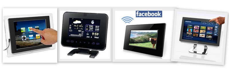 Digital picture frames with many features connected to Internet are already available