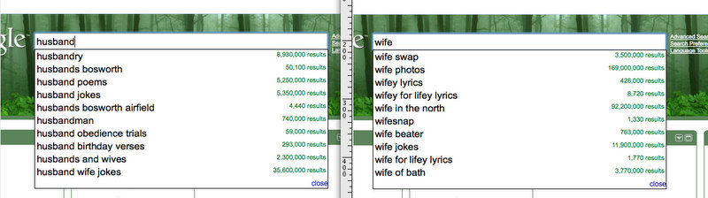 Google Searches from the UK thanks to katiemuffett