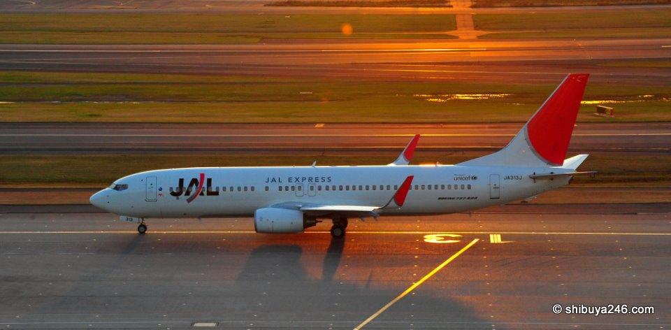 Will JAL split its companies into a basket of profitable v unprofitable, domestic v. international ?