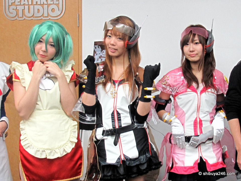 CGM Night #6 was held at the HQ of Cospa, a muti-talented company that also makes cosplay costumes. These are some of its range.