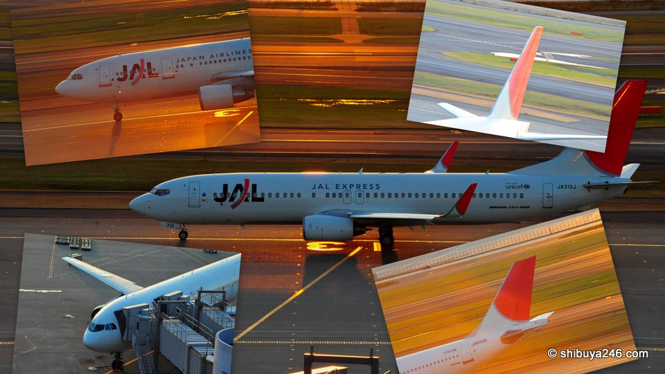 Splitting up JAL