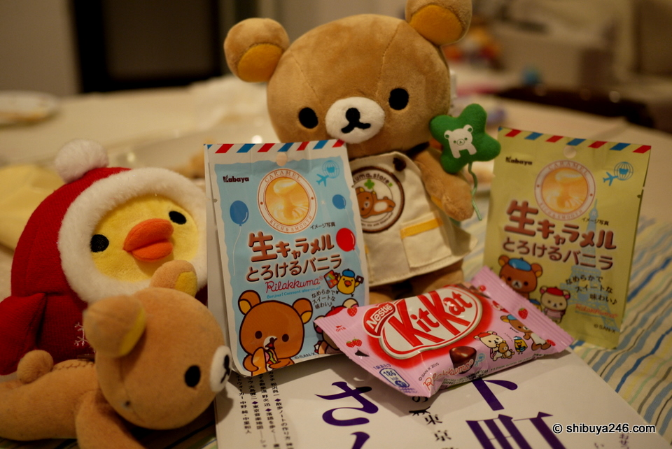 Rilakkuma Snacks, Japan