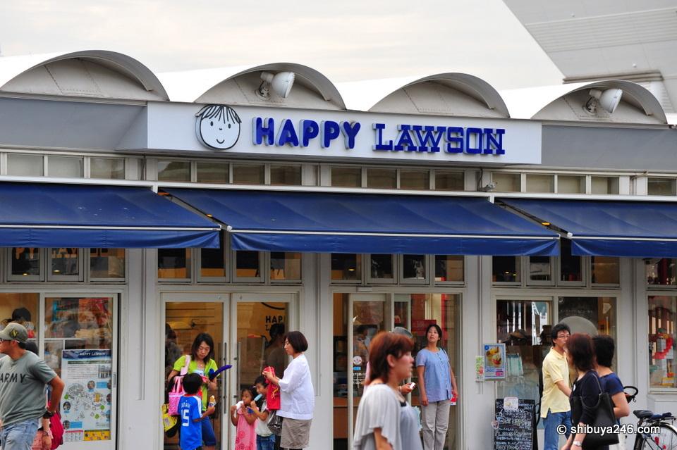 A special Lawson theme here at Yamashita Koen, Yokohama.