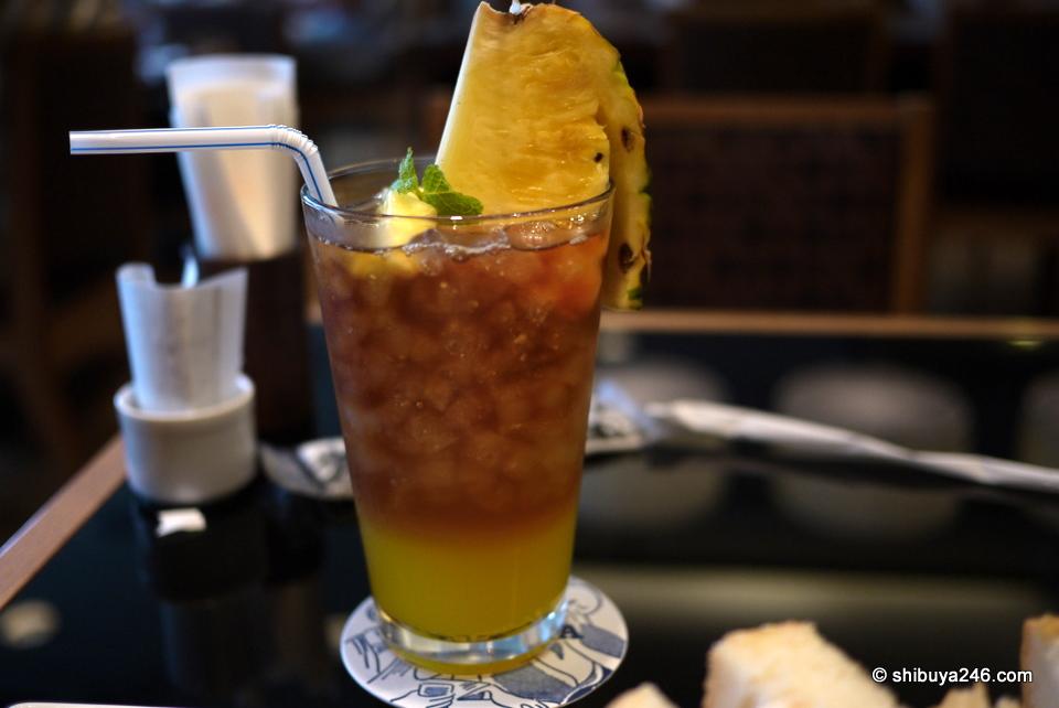Pineapple Ice Tea