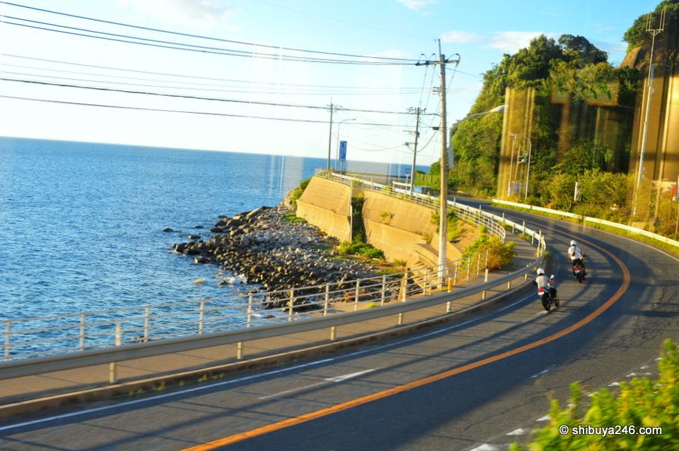 Japan Coast Road