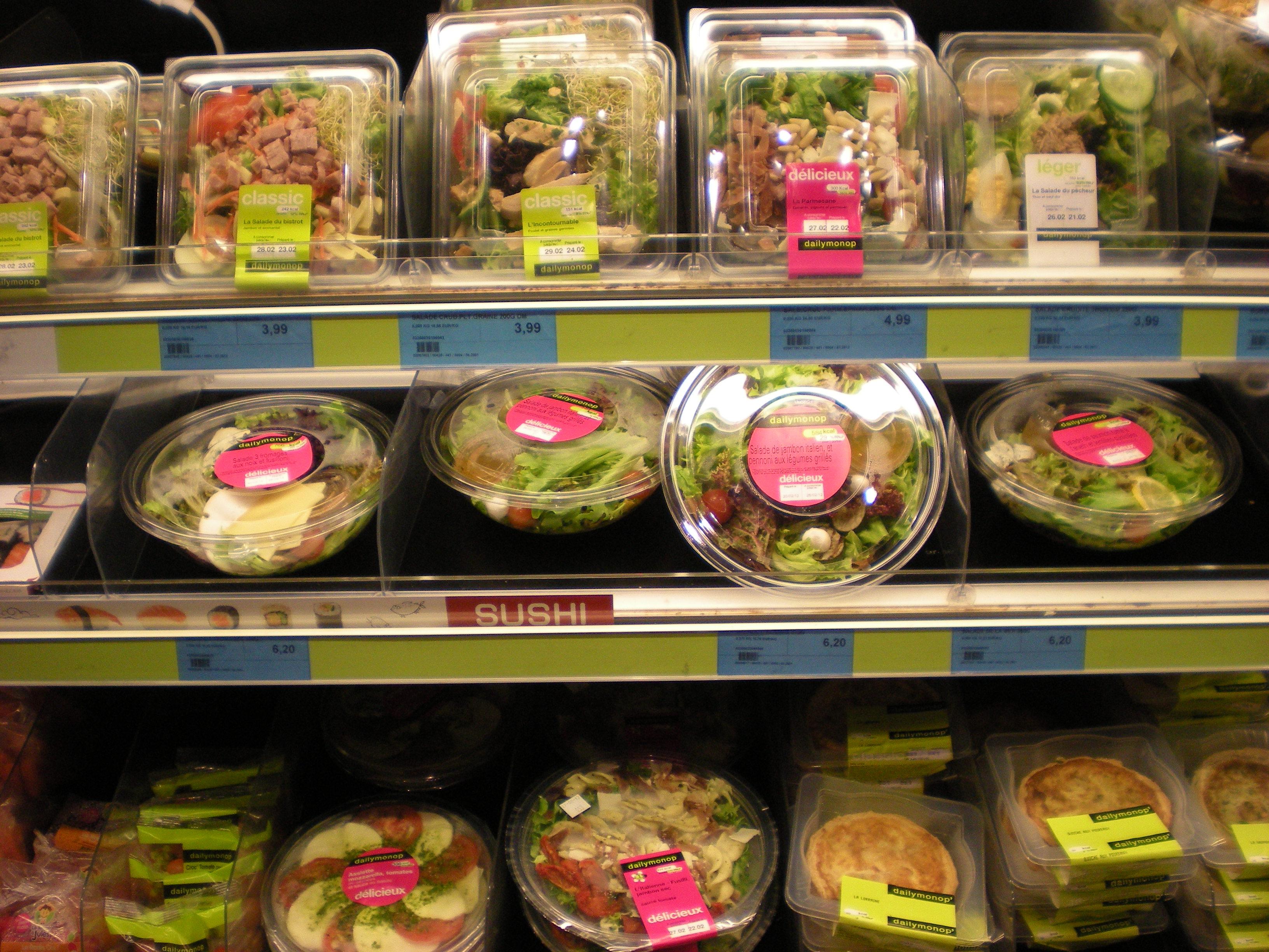 Delicious-looking salad!