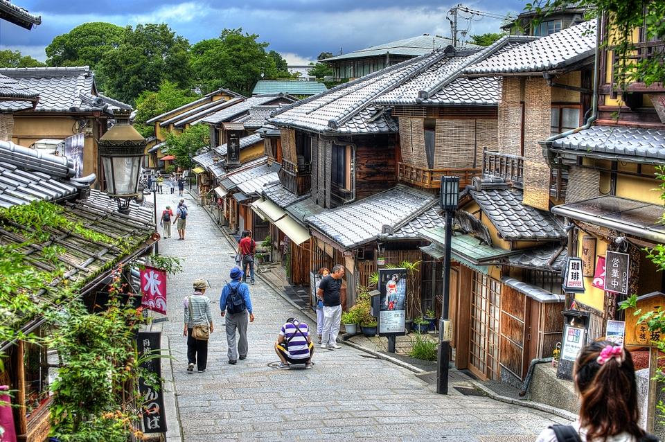 Walking near Kiyomizudera