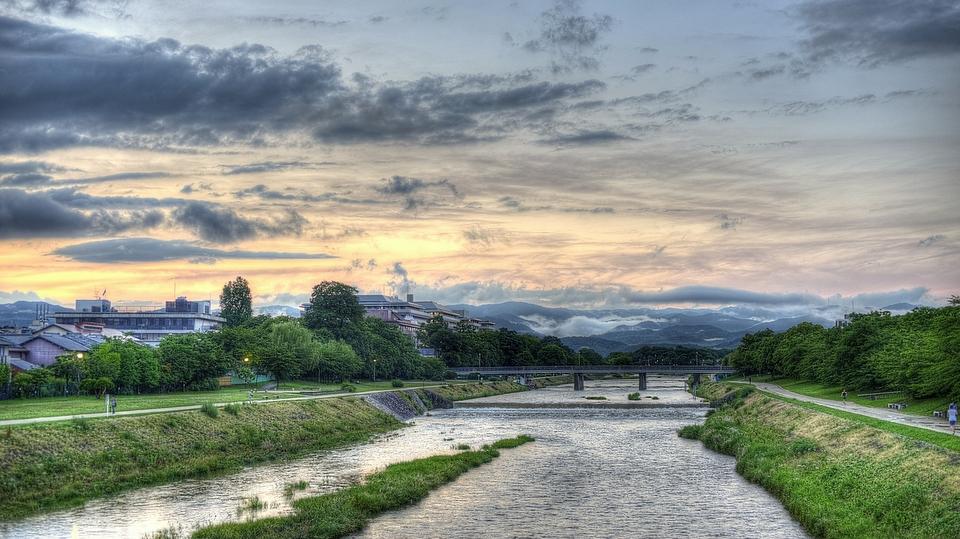 Kamogawa Sunset