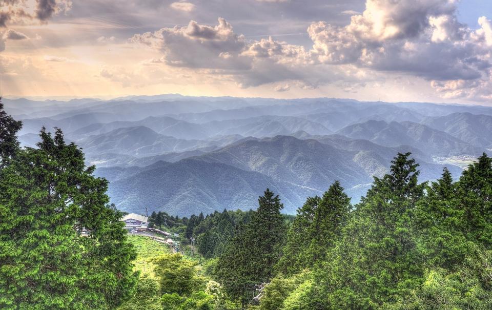 View f rom Mount Hiei