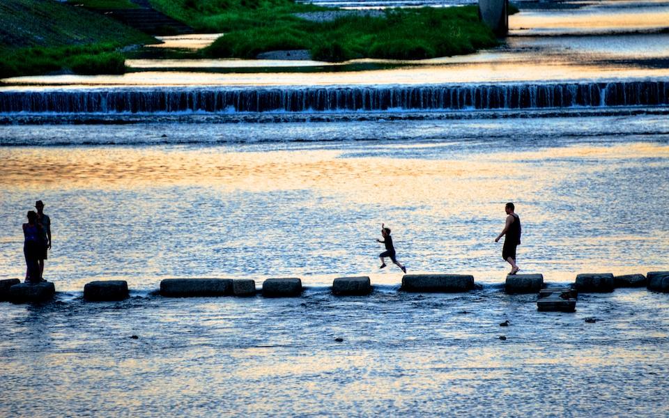Kamogawa River, Kyoto